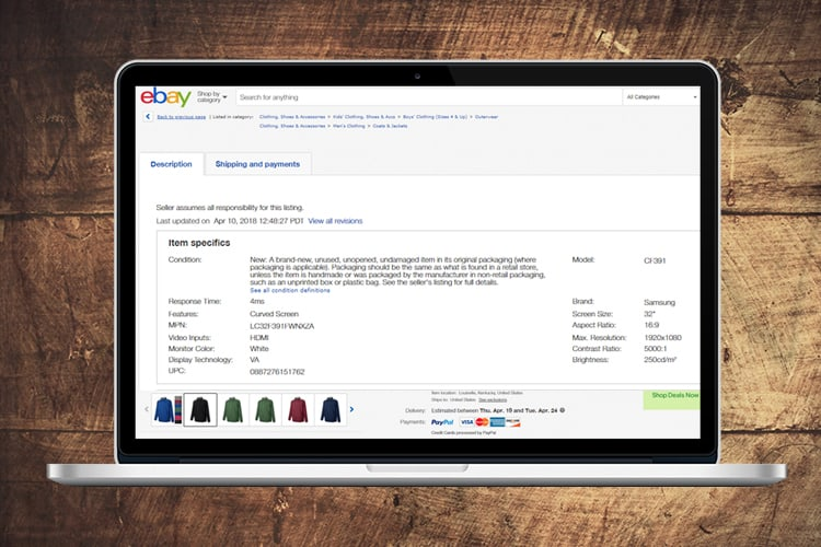 The Perfect eBay Listing Part 3 – The Power of Item Specifics