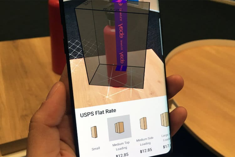 eBay Shows Off Augmented Reality in New Shipping Tool
