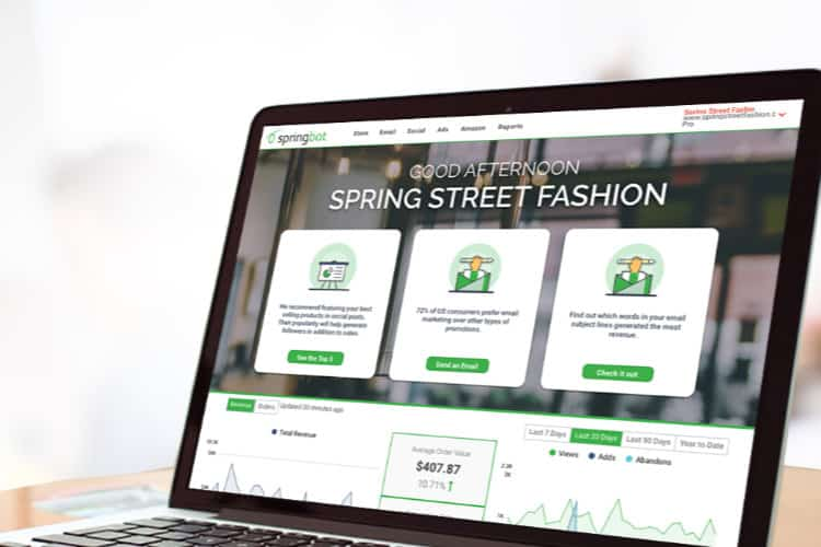 Springbot Launches Data Sharing Marketing Platform for Small eCommerce Retailers
