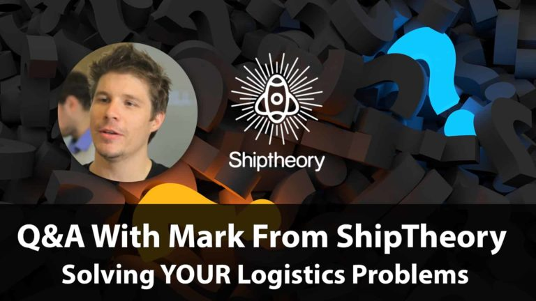 The Live Q&A With Mark From Shiptheory