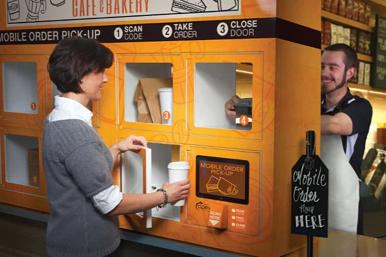 Apex Introduces Pick-Up Lockers for eCommerce Enabled Restaurants