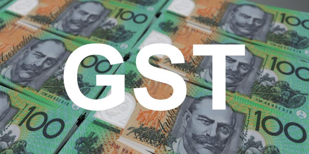 australia 100 note gst