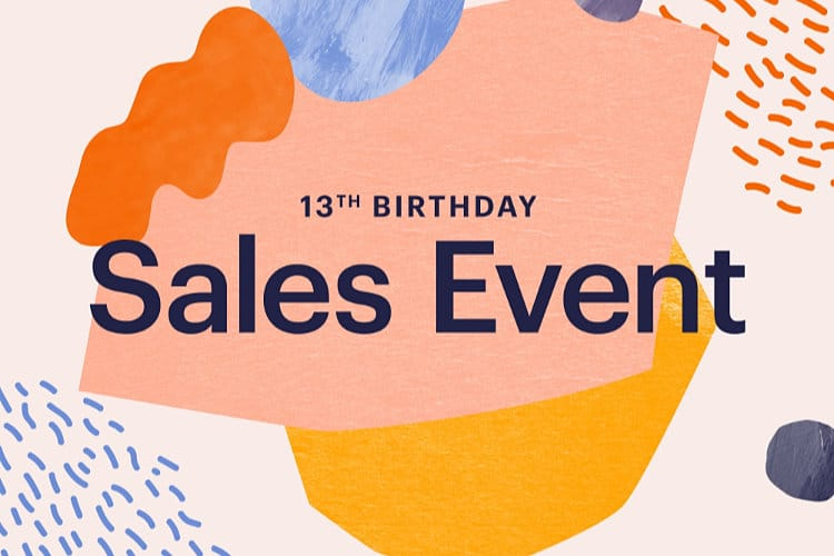 Etsy Invites Sellers to Participate in Its 13th Birthday Sales Event