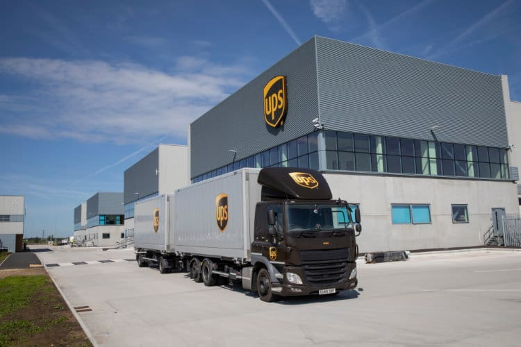 UPS Opens New £120 Million London Logistics Hub