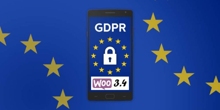 WooCommerce Latest Update 3.4 Includes GDPR Compliance Functions