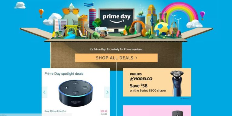 Amazon Prime Day Off To A Rough Start With Website Issues