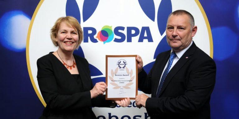 APC Overnight Receives Second Prestigious RoSPA Award