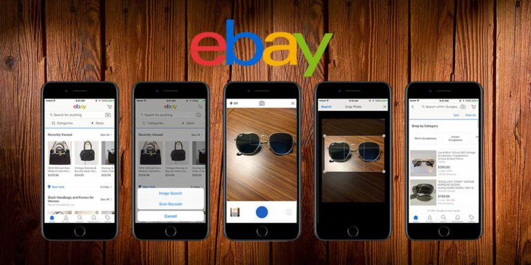 eBay Upgrades Their Image Search Tool