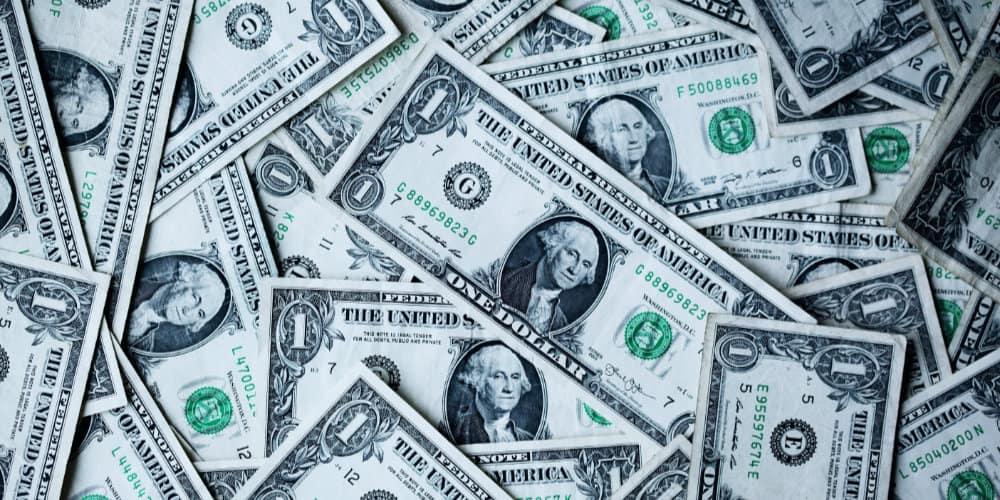 us currency dollar bills