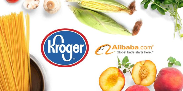 Kroger to Sell Groceries on Alibaba