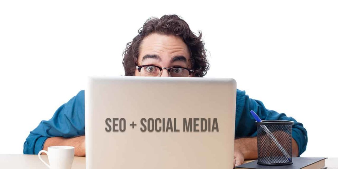 SEO & Social Media Laptop