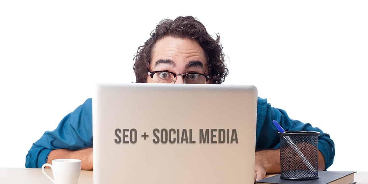 SEO & Social Media Laptop