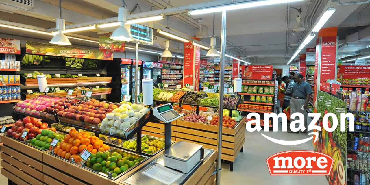 Amazon More supermarket India