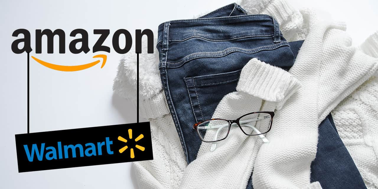 Amazon walmart apparel