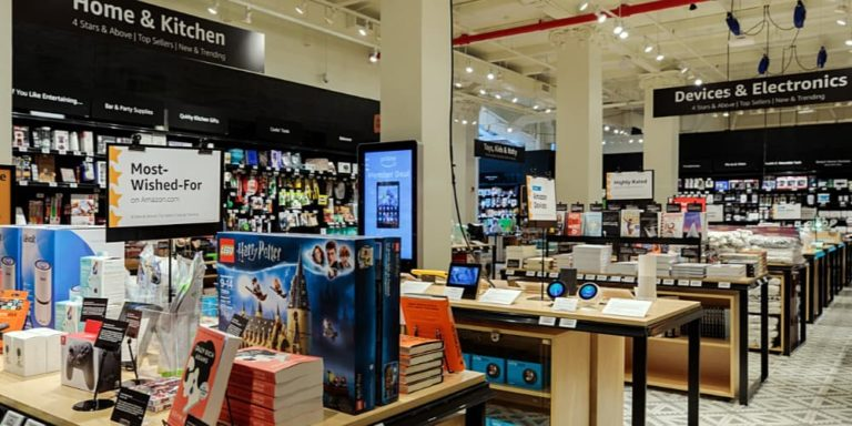 Amazon New Retail Concept Amazon 4-Star Store Opens in New York City