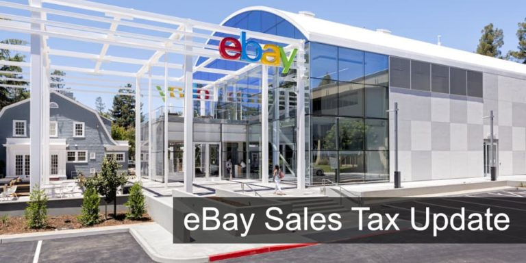 eBay Announces They Will Start Collecting Sales Tax in 2019