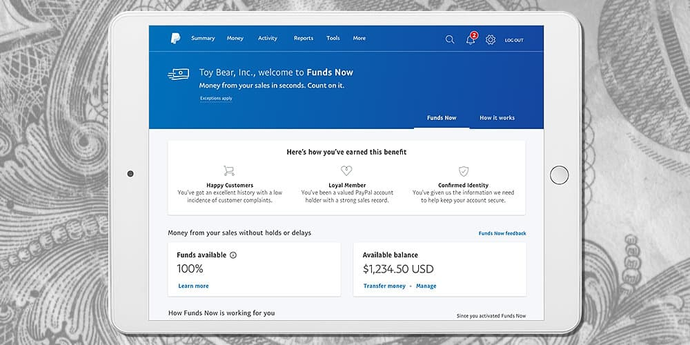 PayPal Announces Funds Now to Help Improve Small Business Cash Flow