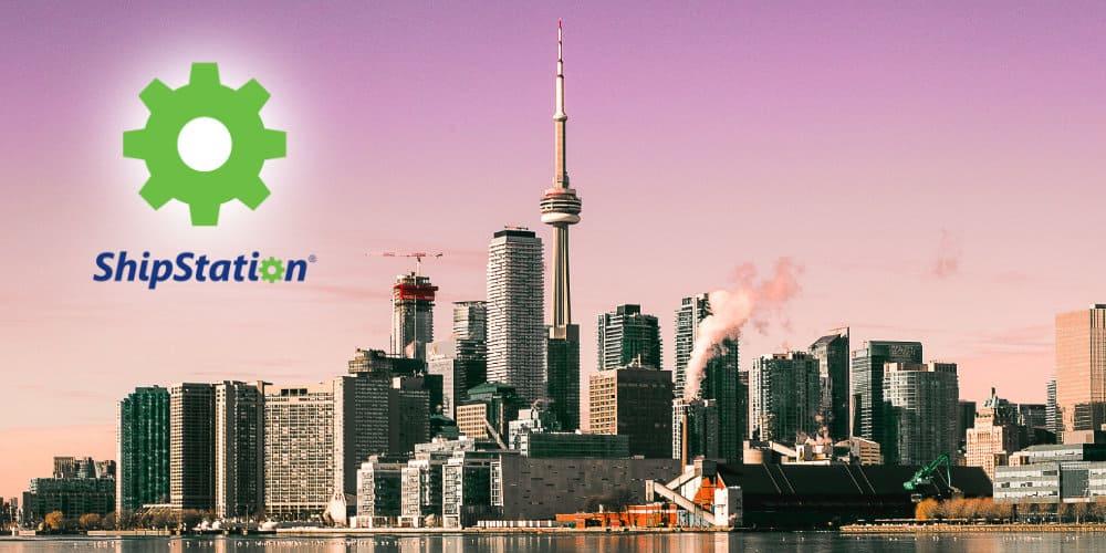 shipstation logo toronto skyline