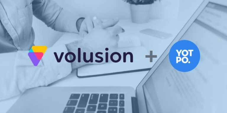Volusion and Yotpo Launch First Native Solution For eCommerce