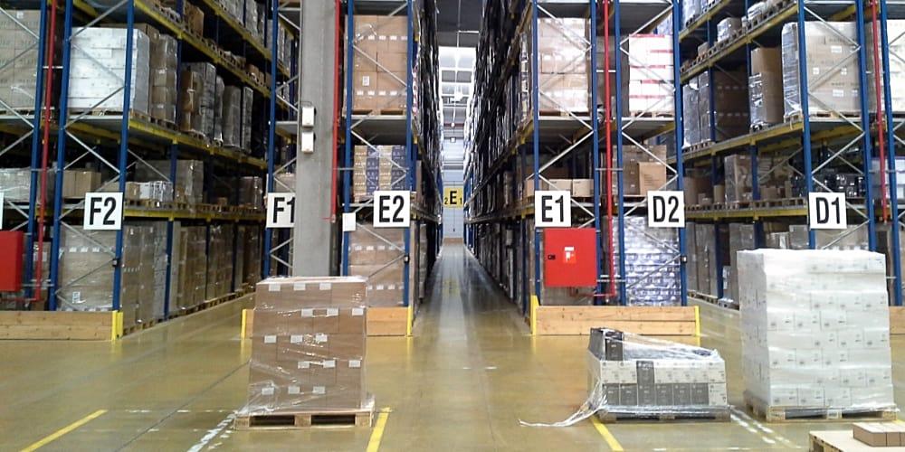 fulfillment center warehouse racks