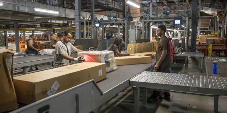New UPS Super Hub in Atlanta can sort 100,000 pieces per hour