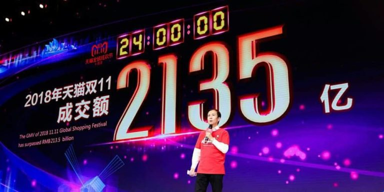 Alibaba Group's 11.11 global shopping festival crushes Black Friday