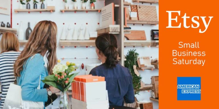 Etsy Joins American Express for Second Year to Celebrate Small Business Saturday on November 24