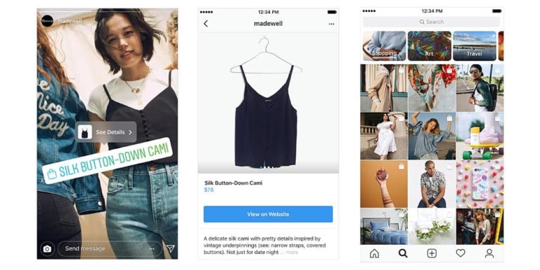 Instagram Introduces New Ways to Shop