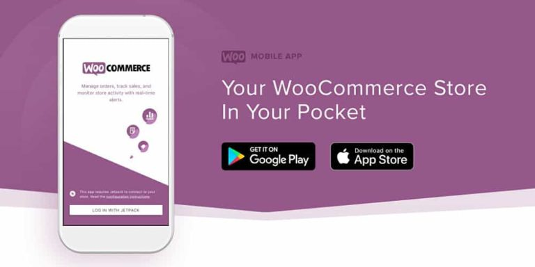 WooCommerce releases updated Mobile App for key metrics, order look-up, and notifications