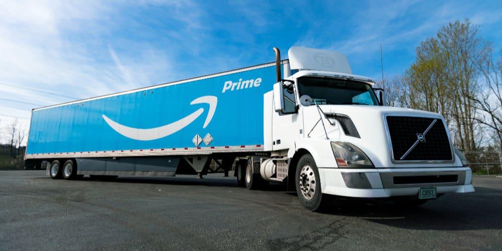 amazon prime truck trailer