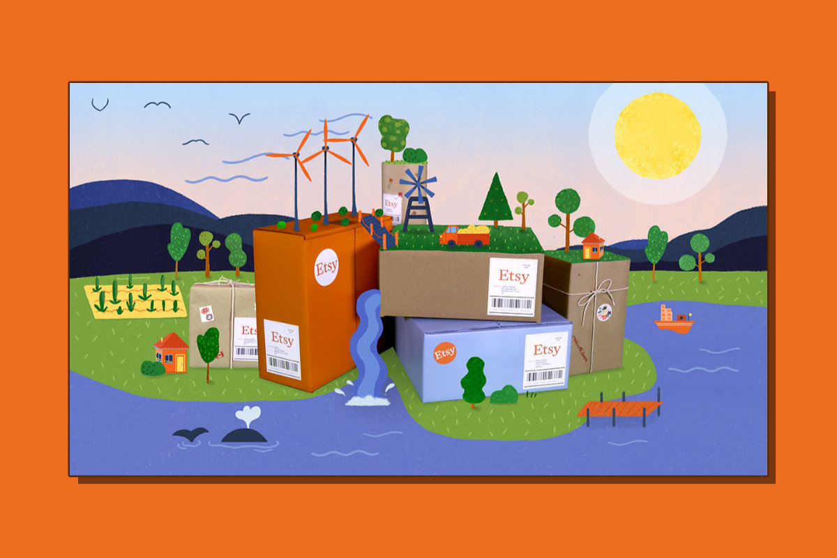 Etsy offsetting carbon emissions from shipping