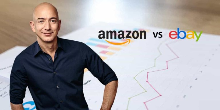 Jeff Bezos Compares Amazon's Business Growth with eBay's