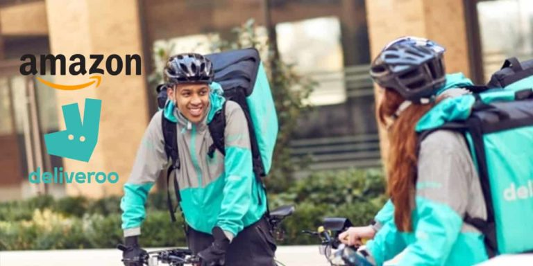 Amazon Makes Large Deliveroo Investment