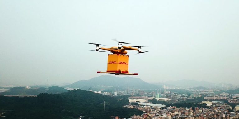 DHL Express Launches Its First Urban Drone Delivery Service