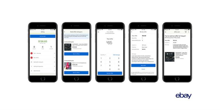 eBay Adds Three New Ways For Sellers To Send Offers To Buyers