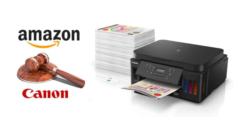Canon Files Infringement Report with Amazon