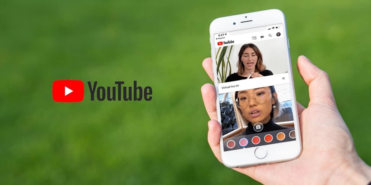 YouTube AR on Mobile phone