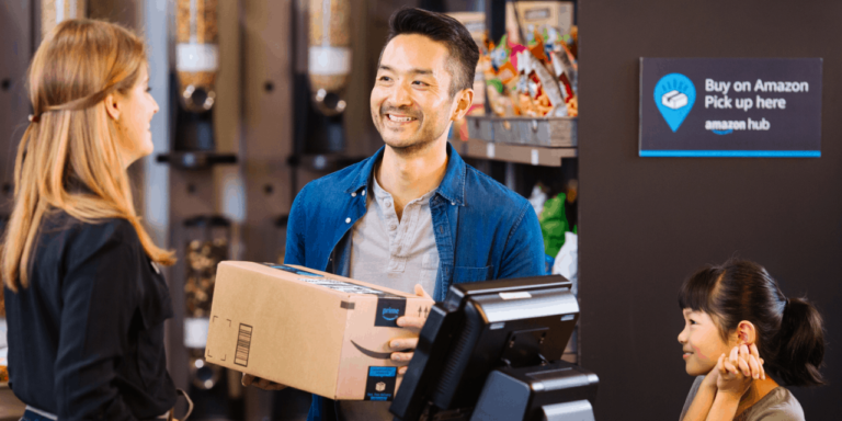 Amazon Introduces Staffed Pickup Points Service Counter in The US