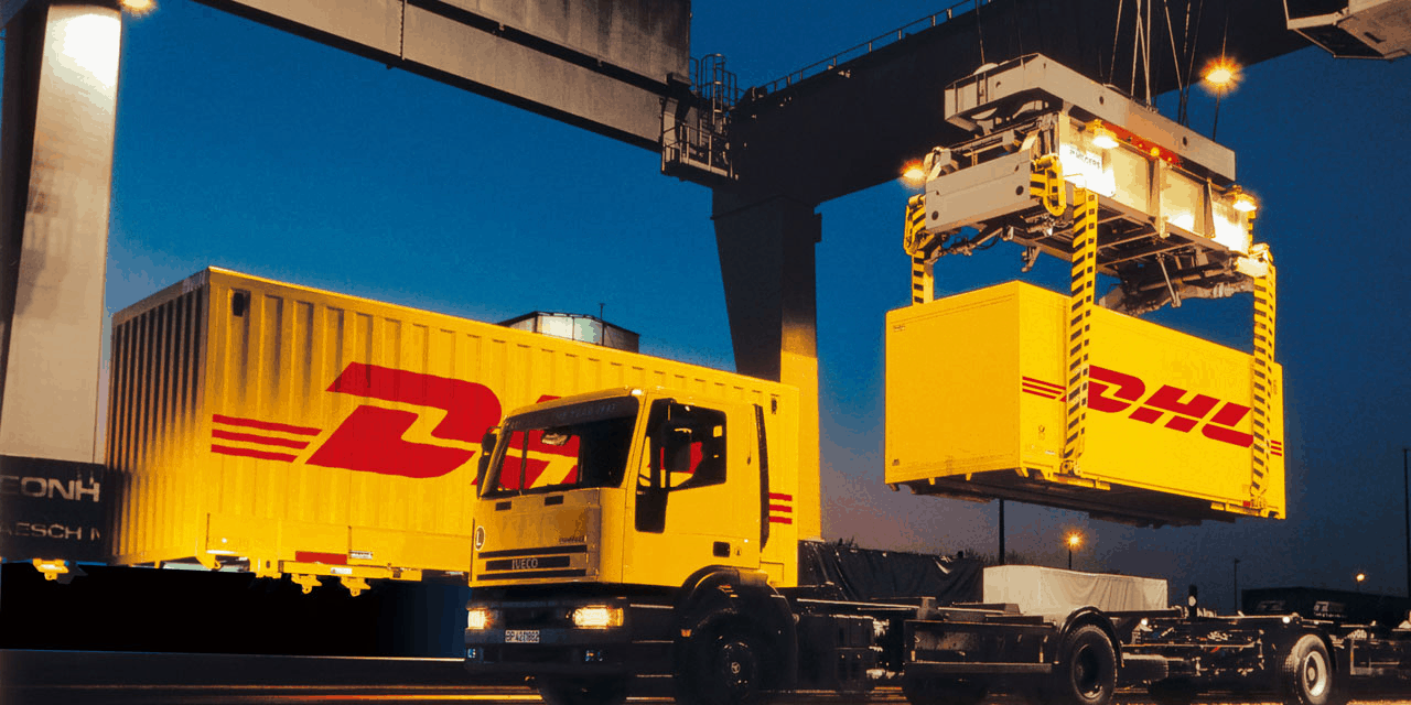 DHL Ocean Freight Container