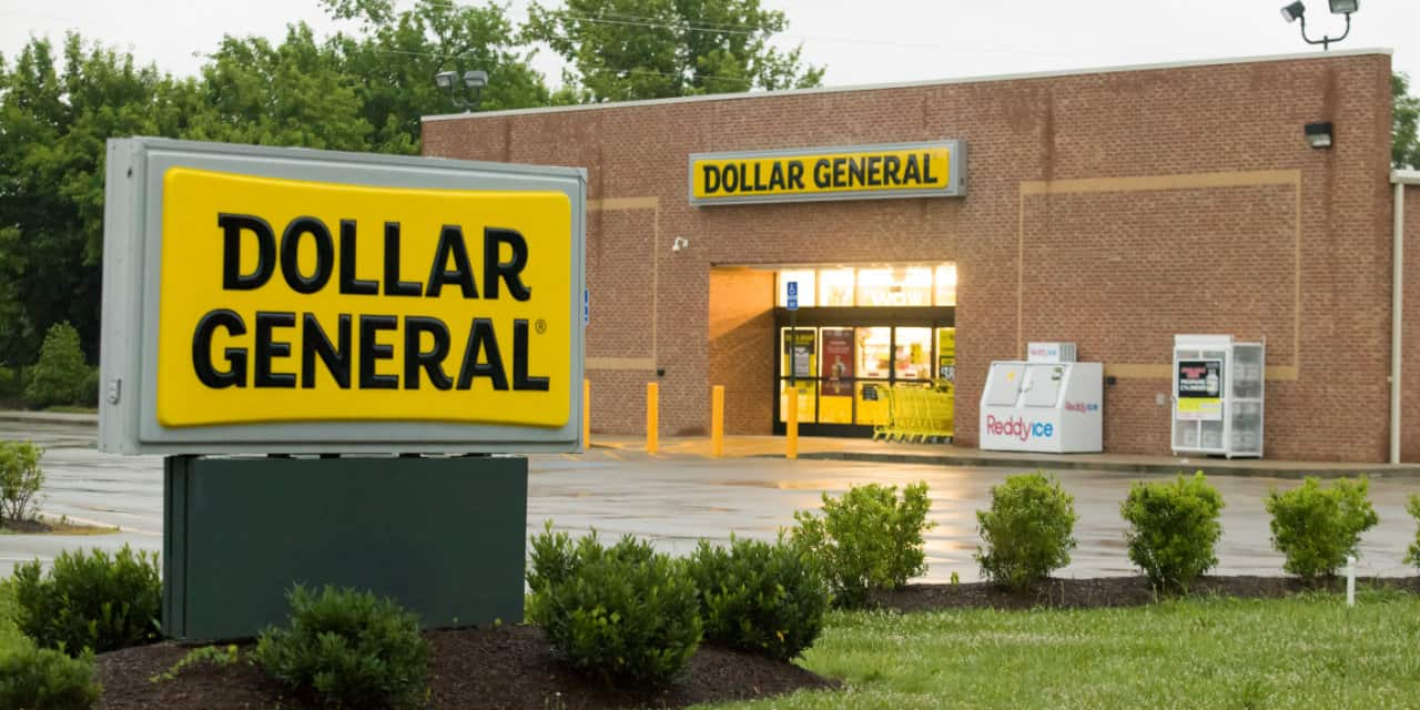 dollar general store front signage