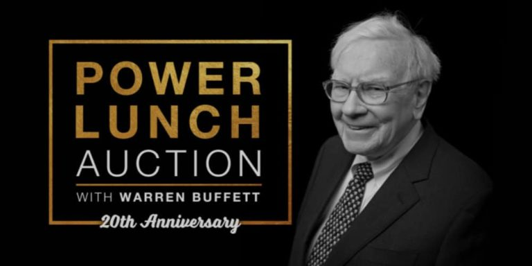 GLIDE's Annual Charity Power Lunch With Warren Buffett Sold For Record-Breaking $4,567,888 On eBay
