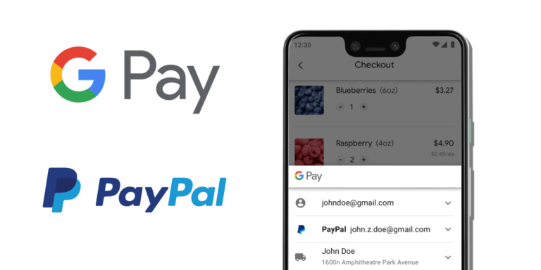 Google Pay and PayPal expand integration to include online merchants