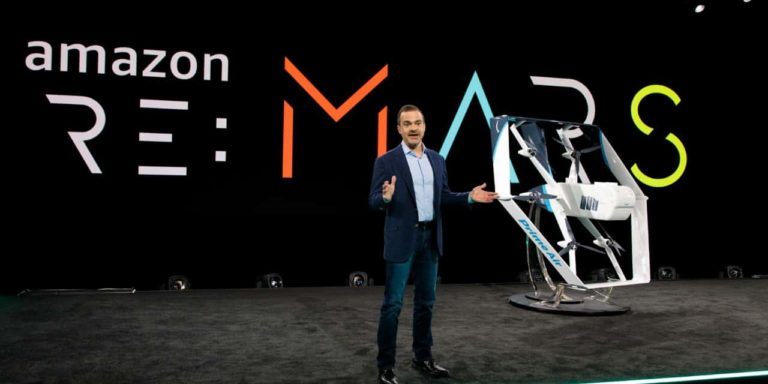 Amazon Shows Off New Drone – Claims Deliveries May Start Within Months
