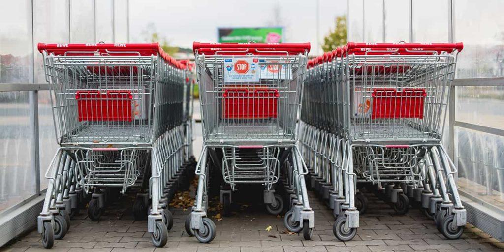 shopping cart abandoned