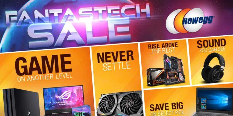 Newegg Announces its Fifth Annual FantasTech Sale