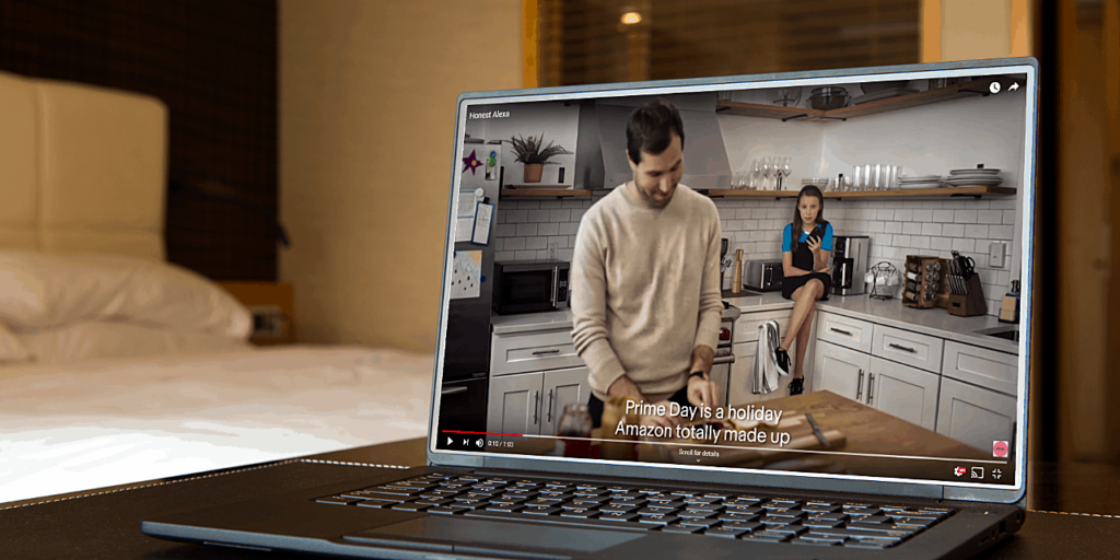 eBay Honest Alexa video ad