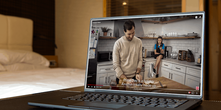 eBay video ad digs at Amazon Prime Day with 'Honest Alexa'