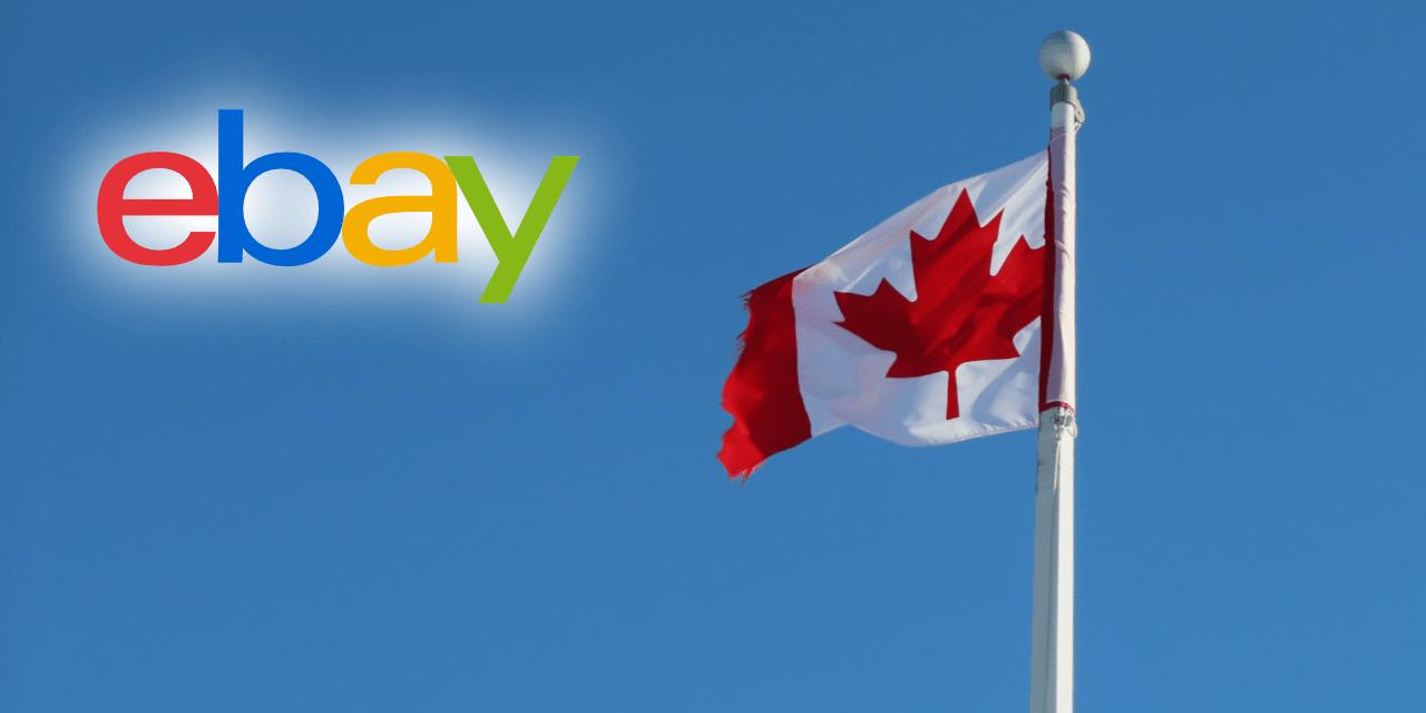 eBay Canada Flag