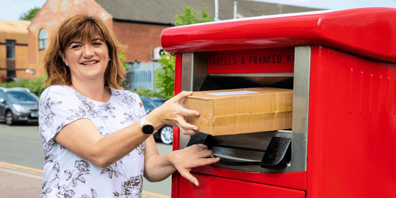 Parcel Postbox MP Nicky Morgan