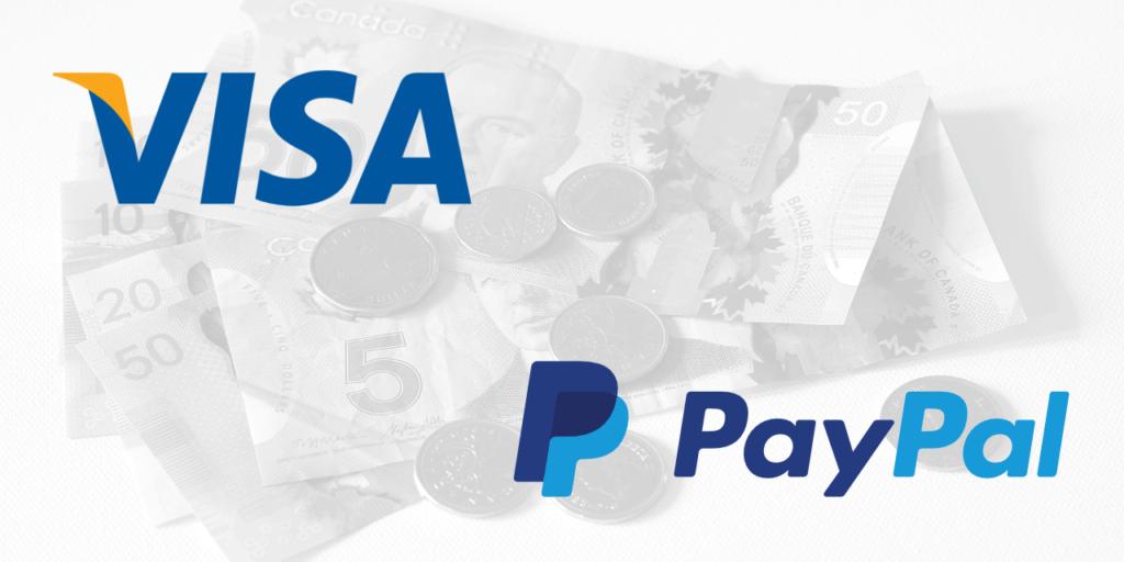 Visa   PayPal   Canada Money
